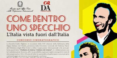 """Concorso cinematografico """"Come dentro uno specchio. L'Italia vista fuori dall'Italia"""""""
