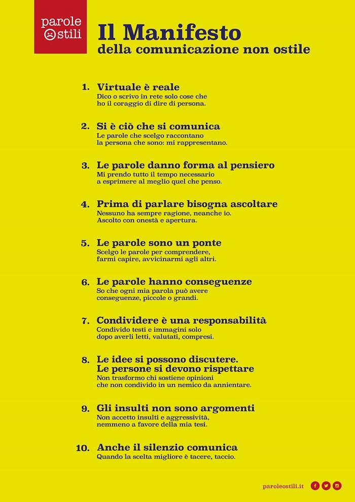Manifesto della comunicazione non ostile_2