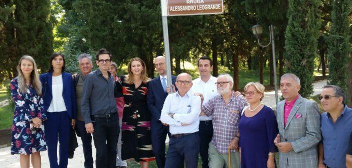 A Tirana, omaggio ad Alessandro Leogrande