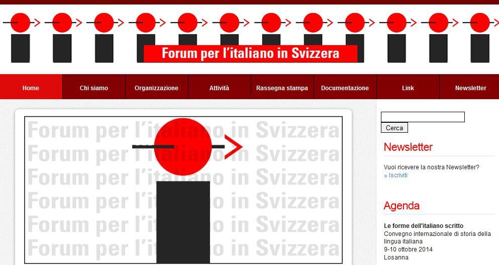 Forum per l'italiano in Svizzera: conclusa la ricerca, i risultati saranno presentati all'Assemblea di novembre