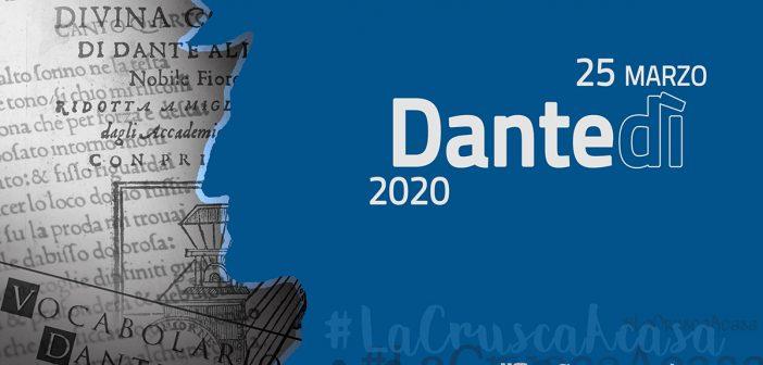 #Dantedì e #LaCruscaAcasa