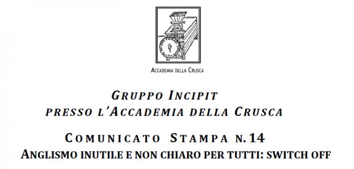 L'INPS accetta i consigli del Gruppo Incipit dell'Accademia della Crusca