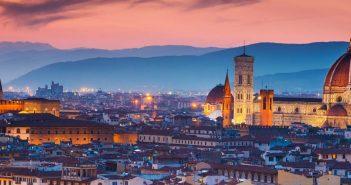 panorama Firenze tramonto