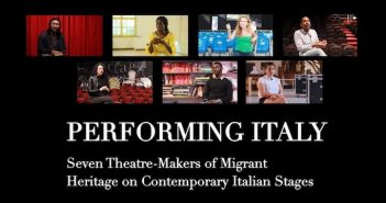 "Londra: il progetto ""Performing Italy"""