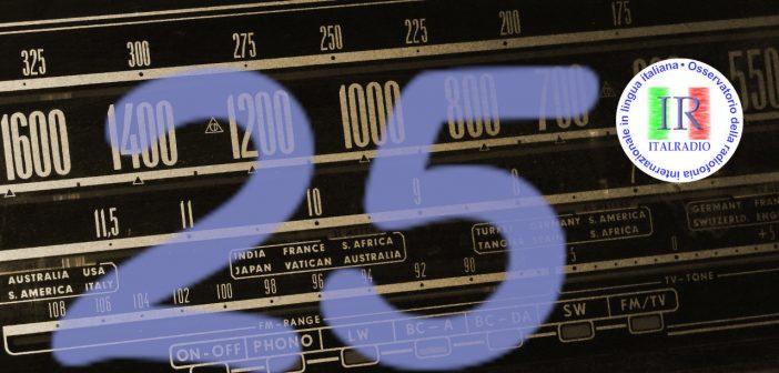 Italradio festeggia 25 anni di attività
