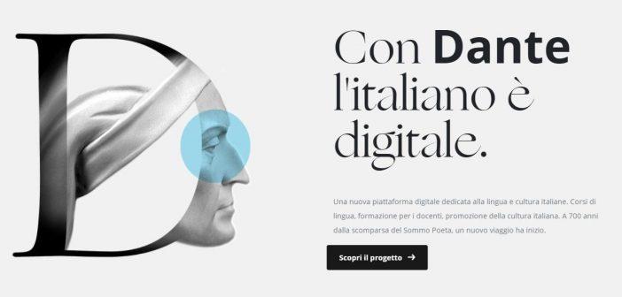 """Presentata Dante.global la nuova piattaforma """"monumento digitale"""" per Dante Alighieri"""