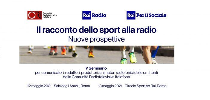 Grande successo del seminario CRI dedicato alle nuove prospettive della narrazione dello sport alla radio